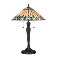 "Pearson Tiffany 23"" H Table Lamp with Empire Shade"