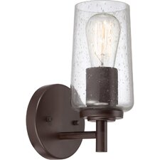 <strong>Quoizel</strong> Edison 1 Light Bath Vanity Light