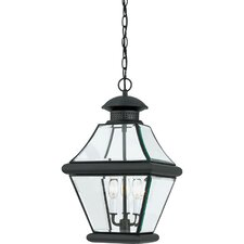 Rutledge 3 Light Outdoor Hanging Lantern