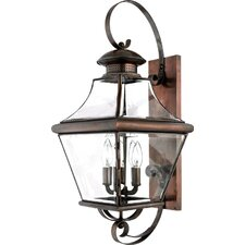 Carleton Oula 4 Light Outdoor  Wall Lantern