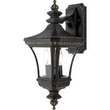 Devon 2 Light Outdoor Wall Lantern