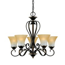 <strong>Quoizel</strong> Duchess 5 Light Chandelier