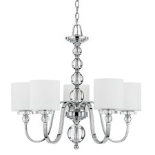 <strong>Quoizel</strong> Downtown 5 Light Chandelier