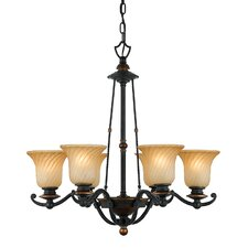 <strong>Quoizel</strong> Genova 6 Light Chandelier