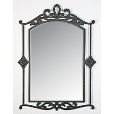 "40"" La Parra Wall Mirror in Imperial Bronze"