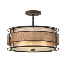 Mica 4 Light Semi Flush Mount