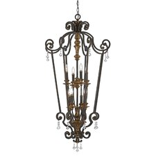 <strong>Quoizel</strong> Marquette 8 Light Chandelier