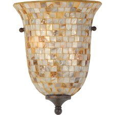 Monterey Mosaic 2 Light Pocket Wall Sconce