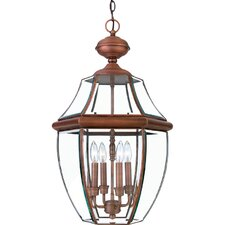 Newbury 4 Light Outdoor Hanging Lantern