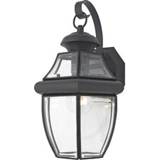 Newbury 1 Light Outdoor Wall Lantern