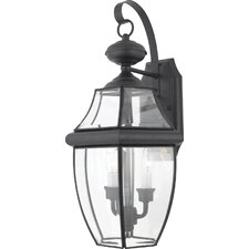Newbury 2 Light Outdoor  Wall Lantern