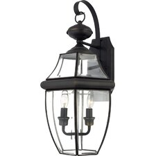 Newbury 2 Light Outdoor  Wall Lantern (Set of 2)