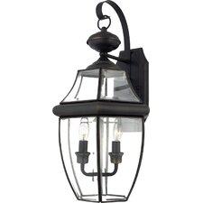 Newbury 2 Light Outdoor  Wall Lantern (Set of 2)