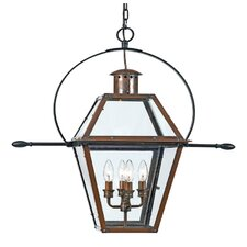 Rue De Royal 4 Light Large Outdoor Hanging Lantern