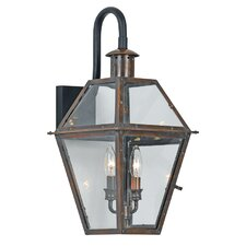 Rue De Royal 2 Light Outdoor Wall Lantern