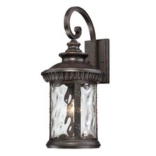 Chimera 1 Light Outdoor Aluminium Wall Lantern