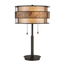 """Laguna 25"""" H Table Lamp with Drum Shade"""