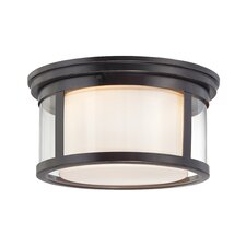 Wilson 2 Light Flush Mount