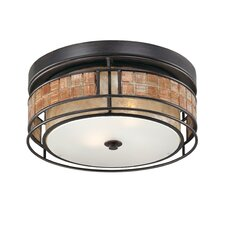Laguna 2 Light Outdoor Flush Mount