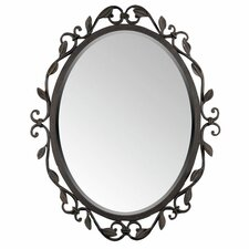 "Englewood 30"" H x 24"" W Wall Mirror"