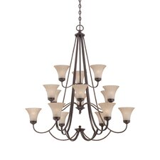 <strong>Quoizel</strong> Aliza 15 Light Chandelier