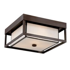 Powell 3 Light Outdoor Flush Mount