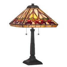 "Ross 23"" H Table Lamp with Square Shade"
