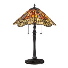 "Sanders 23"" H Table Lamp with Empire Shade"