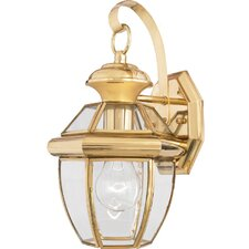 Newbury 1 Light Outdoor Wall Lantern (Set of 6)