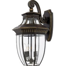 <strong>Quoizel</strong> Georgetown 4 Light Outdoor Wall Lantern
