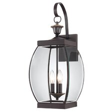 <strong>Quoizel</strong> Oasis  3 Light Outdoor Wall Lantern