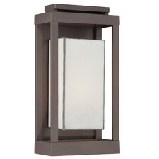 <strong>Quoizel</strong> Powell 1 Light Outdoor Wall Lantern