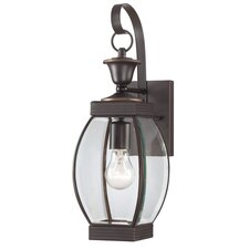 Oasis 1 Light Outdoor Wall Lantern
