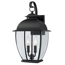 Bain 2 Light Outdoor Wall Lantern