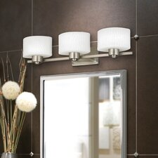 Pacifica 3 Light Wall Vanity Light