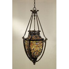 Anfora 4 Light Tiffany Foyer Pendant