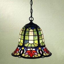 Hyacinth 1 Light Tiffany Pendant