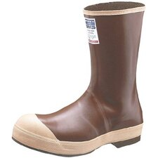 "Neoprene Steel Toe Boots - 12"" brown neoprene pac size 14 steel toe"