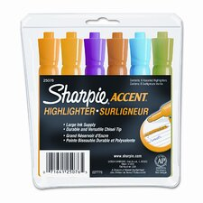 <strong>Sharpie®</strong> Accent Tank Style Highlighter (Set of 6)
