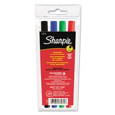 Permanent Markers, Ultra Fine Point (4 Pack)