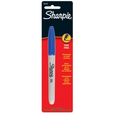 Sharpie® Fine Point Permanent Markers - sharpie blue fine tip marker