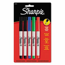 Permanent Markers (5 Pack)