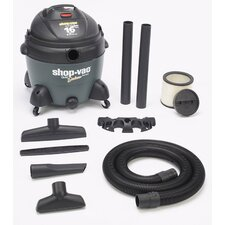 16 Gallon Quiet Deluxe Vacuum  586-16