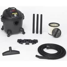 6 Gallon Quiet Deluxe Wet/Dry Vacuum 586-06