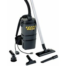 Back Pack Vacuums - 7 qt. capacity back packvacuum 2 hp 2 stage