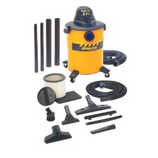 Industrial Economy Series Wet/Dry Vacuums - 10 gallon steel w/dual accessories ind. econom