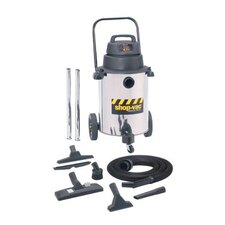 Stainless Steel 10 Gallon 6.5 Peak HP Wet / Dry Vacuum