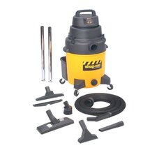 <strong>Shop-Vac</strong> Industrial Super Quiet Wet/Dry Vacuums - 10gallon poly industrialsuper quiet wet& dry vac