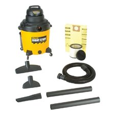 Industrial Wet/Dry Vacuums - 18-gal. 6.0hp shop vac1-stage mot