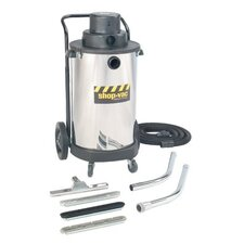 Heavy-Duty Wet/Dry Vacuums - 20-gallon stainless steel tank shop vac 3h